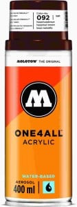 Molotow ONE4ALL SPRAY 400ml #092 hazelnut brown - spray akrylowy