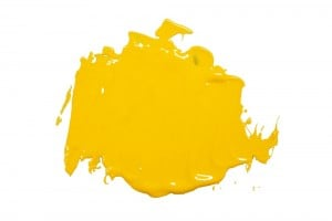 Speedball Water Soluble Block Ink DARK YELLOW - wodna farba graficzna