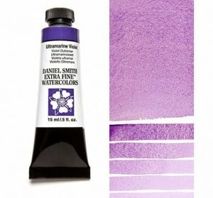 Daniel Smith akwarela Ultramarine Violet