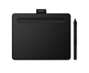 Wacom Intous Small Black Bluetooth - tablet graficzny A6