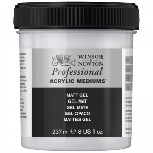 W&N medium Professional Żel - medium matowe