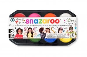 SNAZAROO Paleta 18ml x 8 350 -z. farb do twarzy