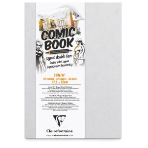 Comic Book Layout Double Face 220g 32 ark. - blok do markerów z dwustronnym papierem