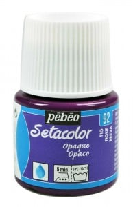 Pebeo Setacolor 45ml Fig - farba do tkanin