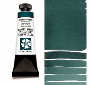 Daniel Smith akwarela Prussian Green