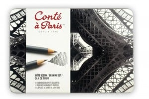 Conte a Paris Drawing set 12 szt - komplet ołówków