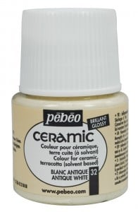 Ceramic 32 ANTIQUE WHITE - farba do ceramiki