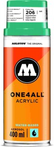Molotow ONE4ALL SPRAY 400ml #206 lagoon blue - spray akrylowy