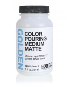 Golden Color Pouring Medium Matt - matowe medium do pouringu