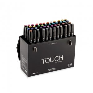Touch Twin Marker 48 Marker Set