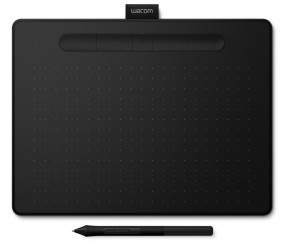 Wacom Intous Medium Black - tablet graficzny A5