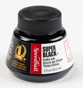 "Speedball Tusz ""Super Black India Ink"" 59 ml"