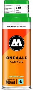 Molotow ONE4ALL SPRAY 400ml #235 turquoise - spray akrylowy