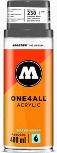 Molotow ONE4ALL SPRAY 400ml #238 grey blue dark - spray akrylowy