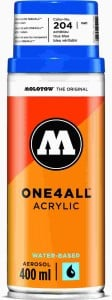 Molotow ONE4ALL SPRAY 400ml #204 true blue - spray akrylowy