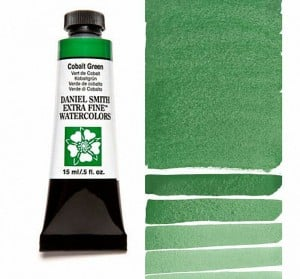 Daniel Smith akwarela Cobalt Green