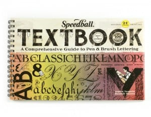 "Speedball Przewodnik po kaligrafii ""Textbook 24th Edition"""