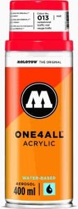 Molotow ONE4ALL SPRAY 400ml #013 traffic red - spray akrylowy