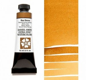 Daniel Smith akwarela Raw Sienna