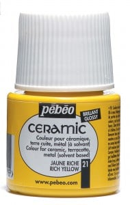 Ceramic 21 RICH YELLOW - farba do ceramiki