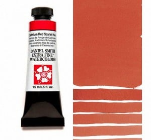 Daniel Smith akwarela Cadmium Red Scarlet Hue