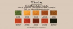 Williamsburg Native Italian Earth Set