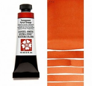 Daniel Smith akwarela Transparent Pyrrol Orange