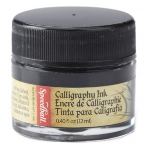 "Speedball Tusz ""Super Pigmented Acrylic Ink"" Black 12 ml"