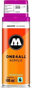 Molotow ONE4ALL SPRAY 400ml #232 magenta - spray akrylowy