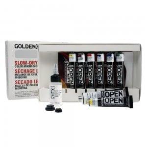 Golden OPEN Color Mixing Set Modern