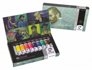 "Van Gogh Oil Colour Set ""LOVING VINCENT"" 10x40ml - komplet farb olejnych"