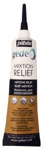 GEDEO MIXTION Relief 37ml - kontórówka do złoceń