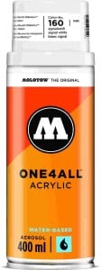 Molotow ONE4ALL SPRAY 400ml #160 signal white - spray akrylowy