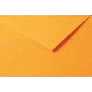 Clairefontaine Tulipe A4 160g  Bright orange  - karton craft