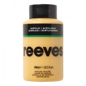 Reeves Farba akrylowa 400ml Naples Yellow