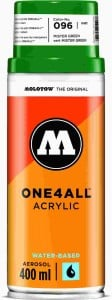 Molotow ONE4ALL SPRAY 400ml #096 MISTER GREEN - spray akrylowy