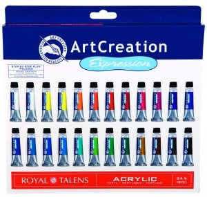 TALENS Art Creation Expession Acrylic 24x12ML