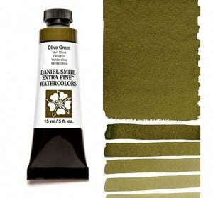 Daniel Smith akwarela Olive Green
