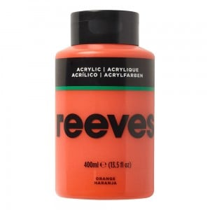 Reeves Farba akrylowa 400ml Orange