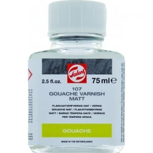 Gouache Varnish Glossy - wernisk do gwaszy (matowy)
