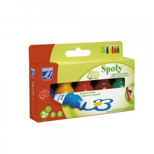 Spoty Tempera Paint Markers 5x70ml - tempery w pisakach