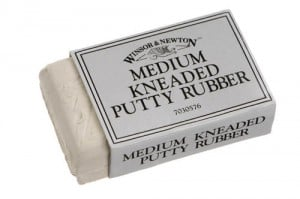 W&N Putty Rubber Medium - gumka chlebowa średnia