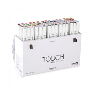 Touch Twin Brush Marker 60 Set A - komplet