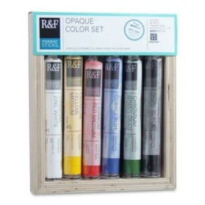 R&F Pigment Sticks Opaque Color Set - komplet 6 sztyftów