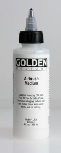 Golden Airbrush Medium (do aerografu)