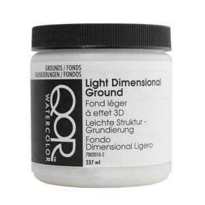 QoR Light Dimensional Ground 237ml - grunt akwarelowy