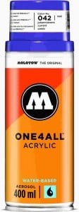 Molotow ONE4ALL SPRAY 400ml #042 currant - spray akrylowy