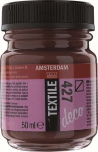 AMSTERDAM Deco Textile 50ml HAVANA BROWN - farba do tkanin