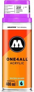 Molotow ONE4ALL SPRAY 400ml #231 fuchsia pink - spray akrylowy