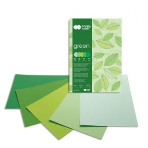 Blok Deco 170g 20 ark. GREEN